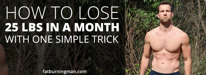 how to lose 40 pounds in a month