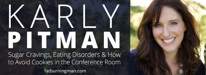 Sugar cravings, eating disorders & how to avoid cookies in the conference room: http://bit.ly/karlyrp