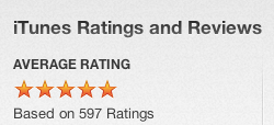 iTunes Ratings for the FBM Show