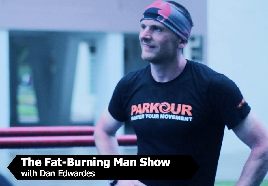 Dan Edwardes on The Fat-Burning Man Show