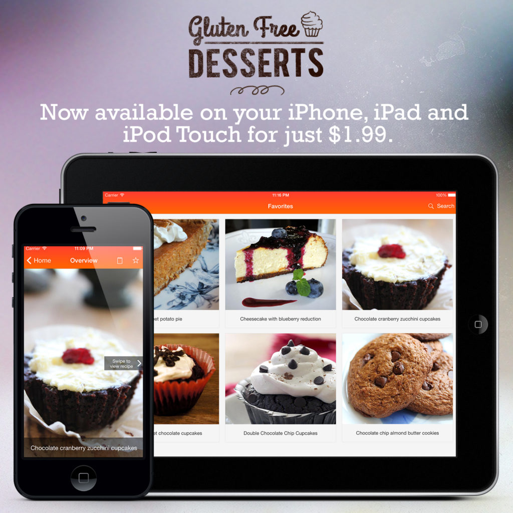 Gluten Free Desserts - Now Available for $1.99