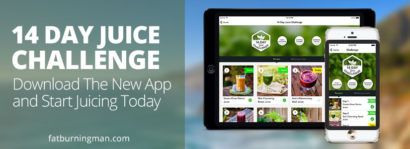 Juicing App 14 Day Challenge