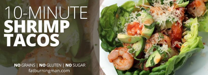 10-Minute Shrimp Tacos