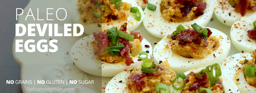 Paleo Deviled Eggs