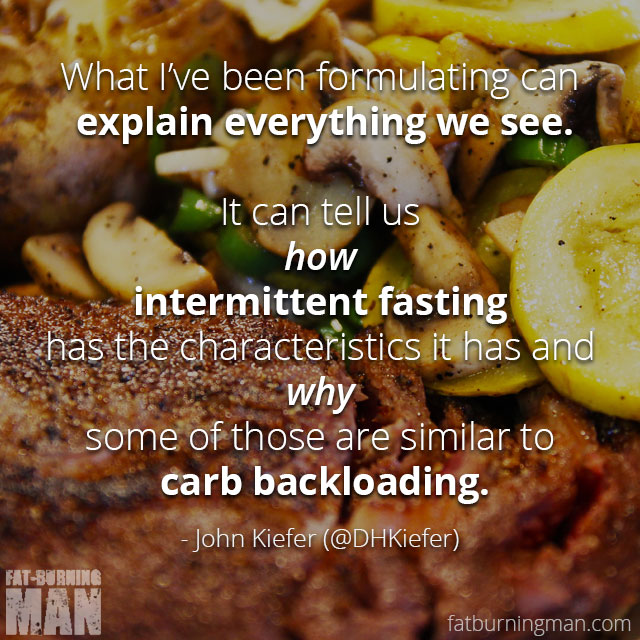 John Kiefer with Abel James, on intermittent fasting and carb backloading