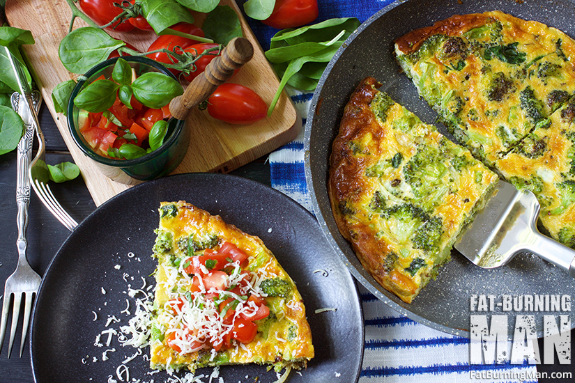 Meet your new friend, the Green Monster Frittata with Bruchetta: http://bit.ly/fatburnbf