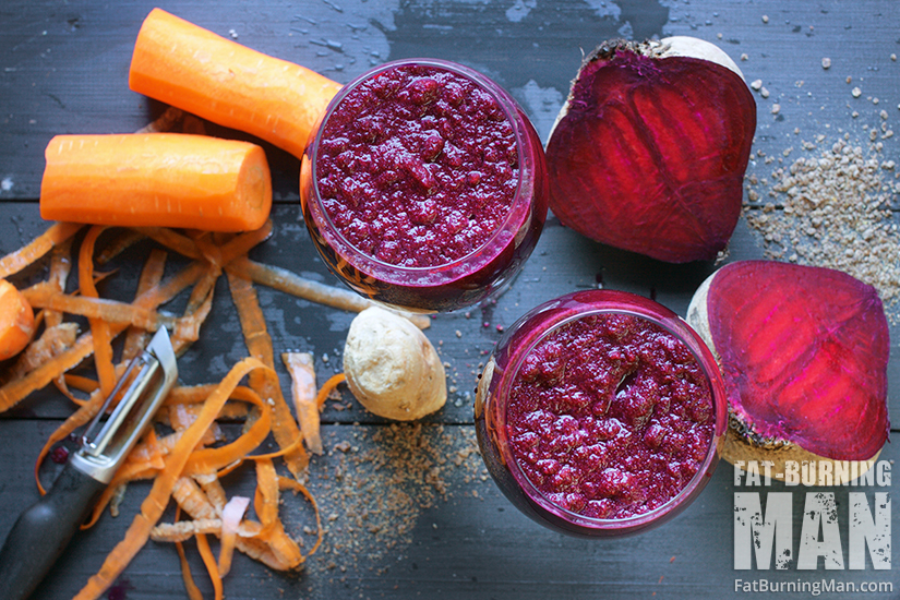 This Wild Root Smoothie is loaded with root vegetables, including beets, carrots, turnips and fresh ginger.: http://bit.ly/wildrts