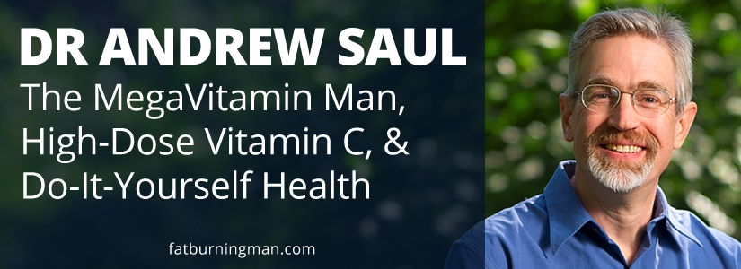 On this week's show with Dr. Andrew Saul, The MegaVitamin Man, you'll learn how to take your health into your own hands with inexpensive, readily available, and easy-to-use vitamins. http://bit.ly/takevitc