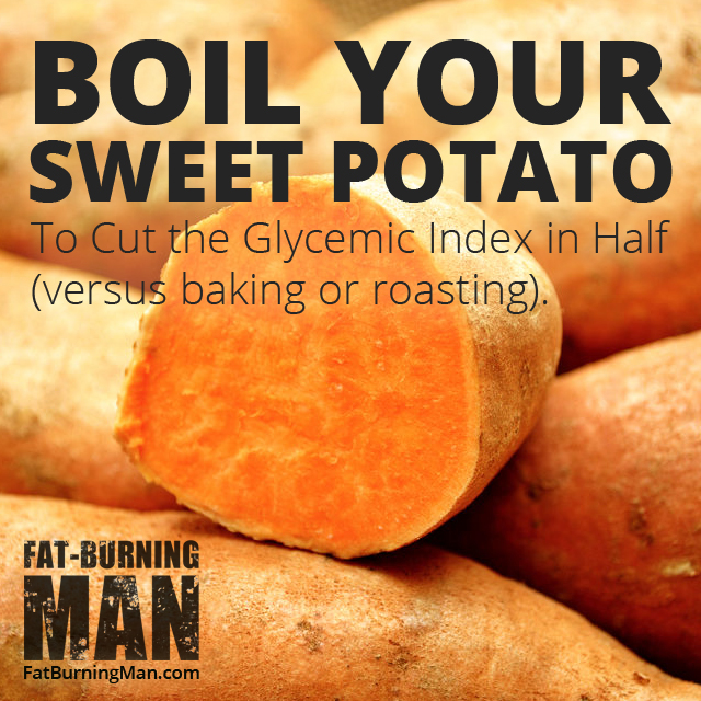 Learn how this strange cooking method decreases calories and GI of starchy foods: http://bit.ly/grilldangers