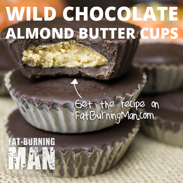 Ditch the Reeses and make these Wild Almond Butter Cups instead - it's much easier than you think: http://bit.ly/fbmtrickortreat