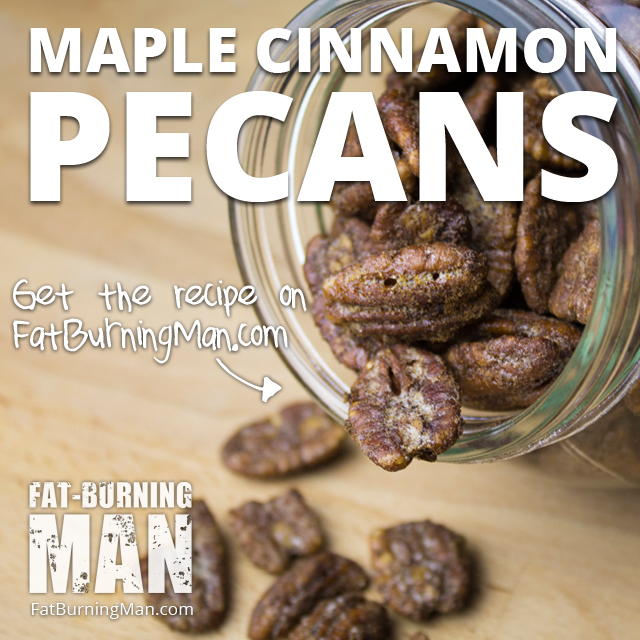 You can enjoy the flavors of autumn and even indulge your sweet tooth with this healthier paleo recipe for cinnamon roasted pecans.. Get the recipe here: http://bit.ly/fbmtrickortreat