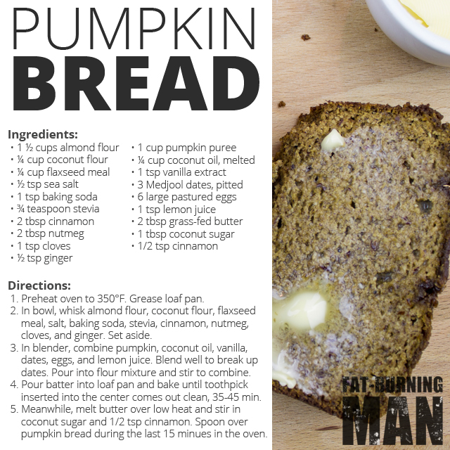 Avoid pre-made mixes and try this Paleo Pumpkin Bread Recipe instead: http://bit.ly/pmknbread