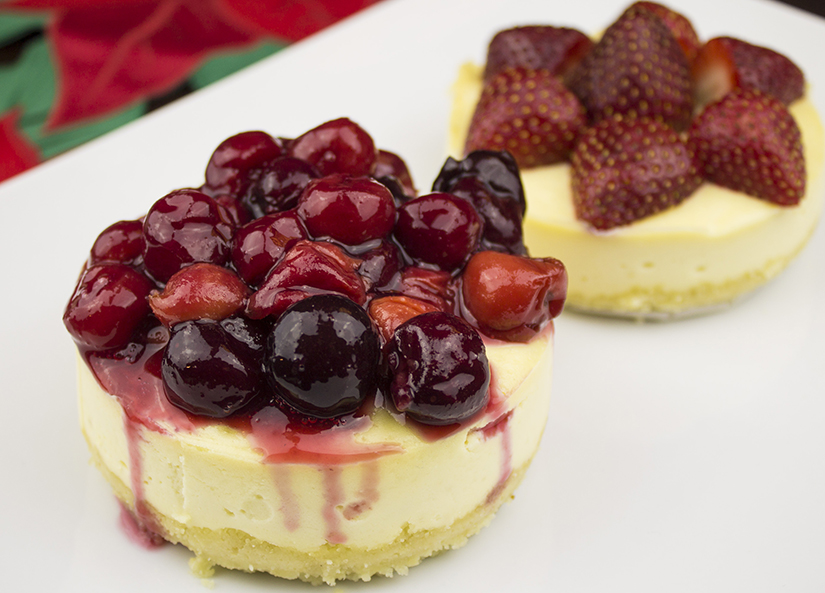Get our Holiday Feasts ebook for FREE (along with this classic mini cheesecake recipe) when grab the Fat-Burning Chef: http://fatburningchef.com