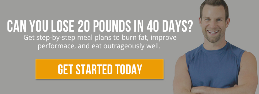 Get step-by-step meal plans to burn fat, improve performance, and eat outrageously well: http://bit.ly/30daymeals