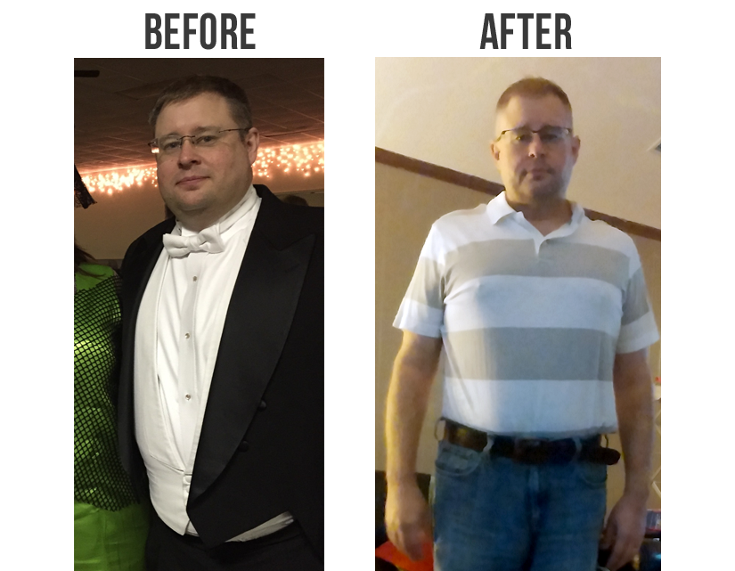 Learn how David lost over 42 pounds on The Wild Diet: http://bit.ly/beforaftr