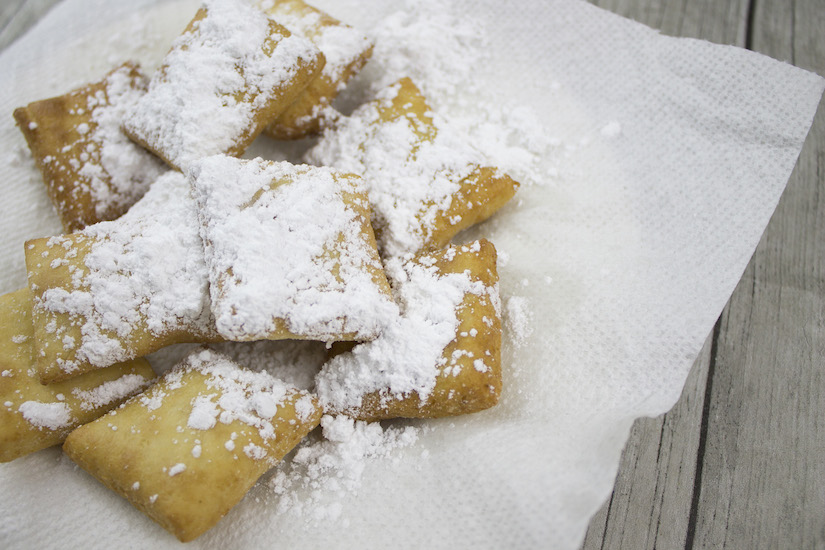 Beignets are a light, yeasted doughnut you can find hot out of the fryer at Café Du Monde in the New Orleans French Quarter 24 hours a day, seven days a week. Get the recipe for this gluten-free, grain-free, dairy-free, paleo-friendly take on this classic donut from The Big Easy: http://bit.ly/paleobeignet