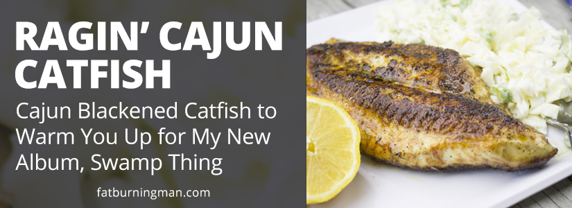 To get you warmed up for my New Orleans themed album of original music, Swamp Thing, we're sharing spicy Cajun recipes to set the mood: http://bit.ly/ragin-cajun