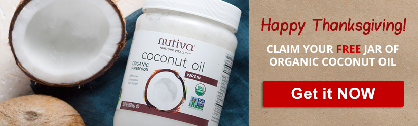 As a pre-Thanksgiving gift, we teamed up with Thrive Market to give you a full-size jar of organic and fair-trade coconut oil. Claim yours here: http://thrivemarket.com/fatburningcoco