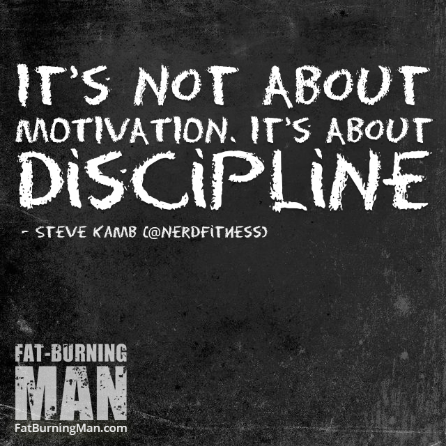 F motivation. Cultivate discipline: http://bit.ly/nerdyoga