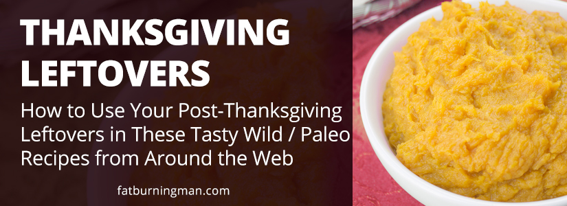 Here are some delicious Paleo recipes that will use up your leftovers without making you feel like you're eating the same meals over and over again: http://bit.ly/tgleftovers