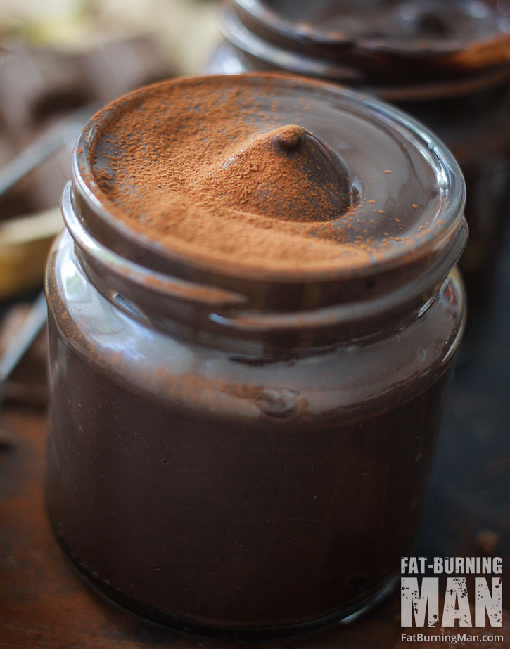This rich chocolate pudding is #paleo, dairy-free, gluten-free, and #vegan… but doesn't compromise on taste: http://bit.ly/wildchocpud