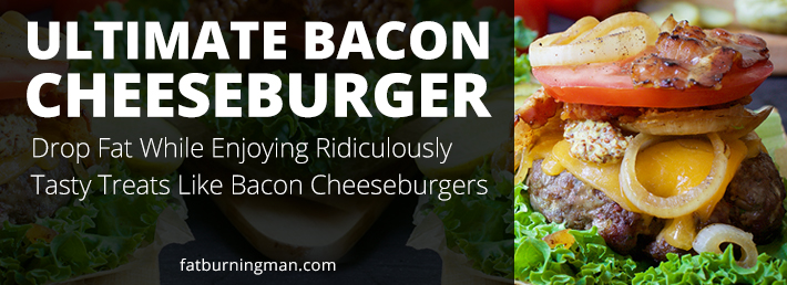 One of the best things about The Wild Diet is that you can drop fat while enjoying ridiculously tasty treats like bacon cheeseburgers: http://bit.ly/baconburg