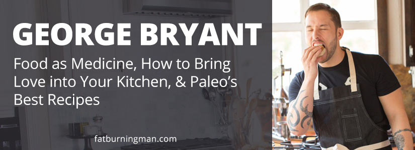 George Bryant is a former marine who struggled with weight and an eating disorder for twelve years before turning to the kitchen for salvation: http://bit.ly/foodnluv