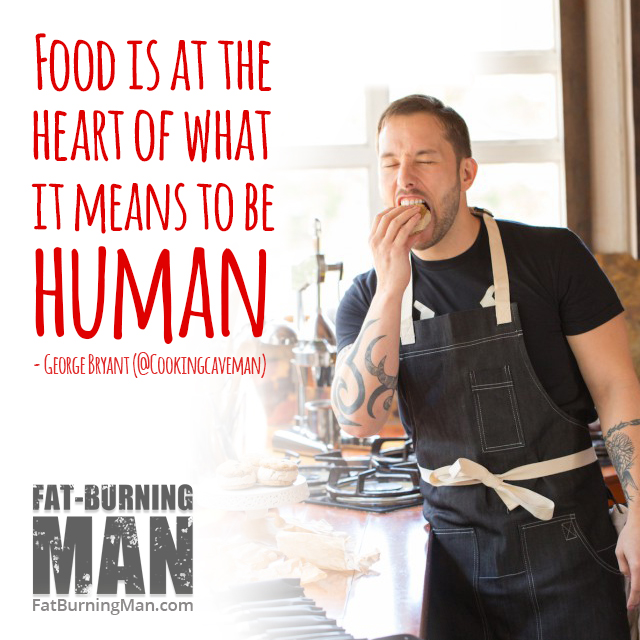 Food isn't meant to be a burrito wrapped in aluminum. It's at the heart of what it means to be human, to be alive, to be vulnerable with other people: http://bit.ly/foodnluv