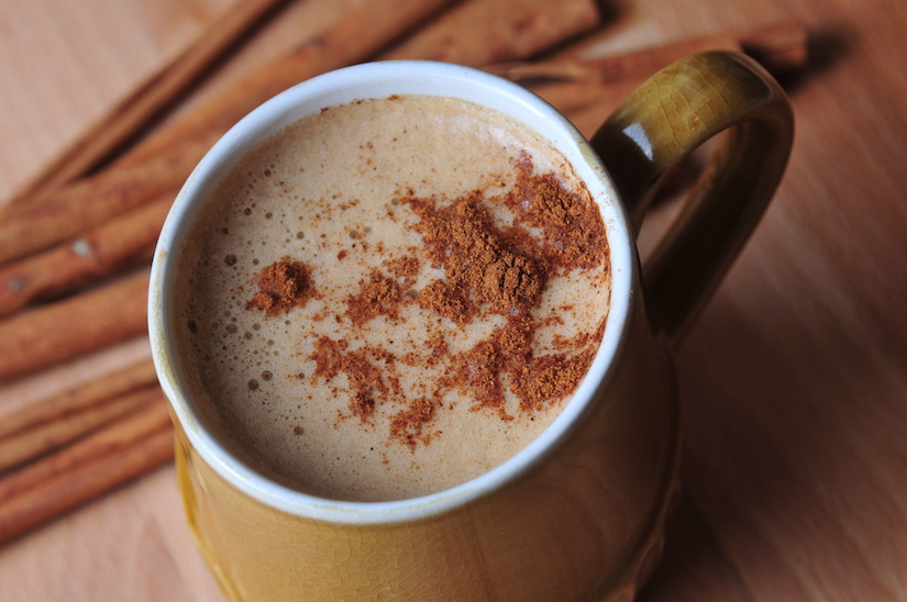 The cinnamon flavor is infused into the brew of this warm, spiced coffee reminiscent of traditional Mexican Coffee… Get the recipe here: http://bit.ly/fatycoffee