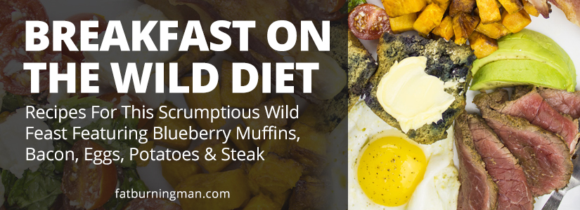 Yes, this can be your breakfast on The Wild Diet! Here's how these indulgent foods fit into your fat-loss plan: http://bit.ly/wildbkfst