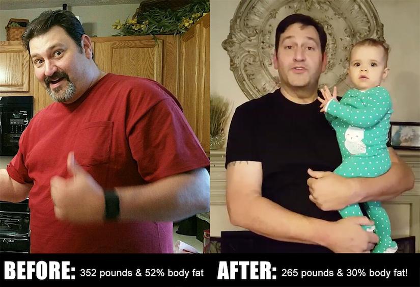 Kurt Morgan Before and After