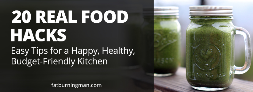 20 real food hacks for a happy, healthy budget-friendly kitchen: http://bit.ly/20healthhacks