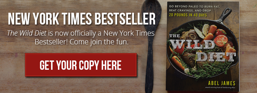 The Wild Diet is a New York Times bestseller. Get your copy here: http://amzn.to/1Qqd616