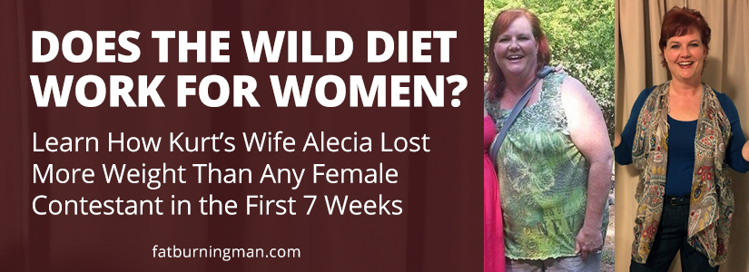 "By week 7 of ""My Diet is Better Than Yours"", Kurt's wife Alecia had actually lost more weight than any of the female contestants! Learn more: http://bit.ly/wdwomen"