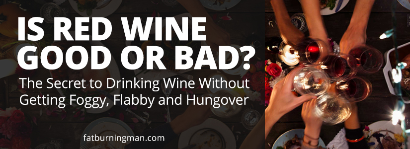 Here's the secret to drinking wine without getting foggy, flabby and hungover: http://bit.ly/drywine