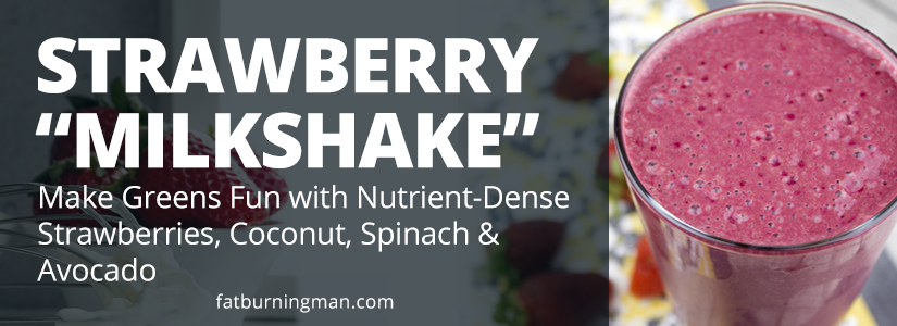 "This rich and creamy ""milkshake"" is loaded with vitamins, healthy fats, and beneficial fiber to help you power through your morning: http://bit.ly/wildsb"