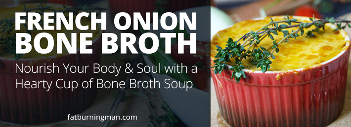 Our recipe for French Onion Soup will to take your broth to the next level: http://bit.ly/frnchoni