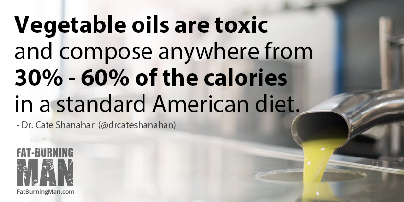 Why vegetable oil is a silent killer: bit.ly/catesha