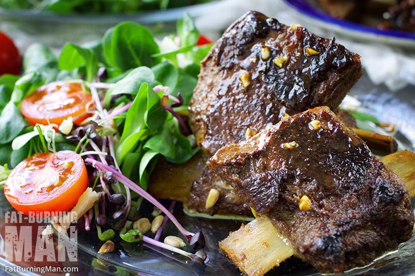 Get this fall-off-the-bone short rib recipe here: bit.ly/shrtrb