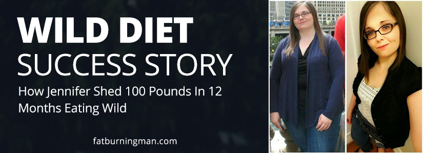 How Jennifer shed 100 pounds in 12 months eating Wild: http://bit.ly/jenhan