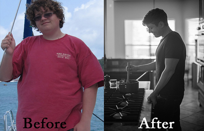 Joshua is the foodie behind the delicious Paleo recipes at the blog Slim Palate and today we talk about how he lost over 100 pounds as a 17 year old!