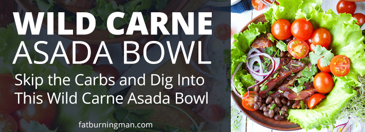 Skip the corn tortillas and dig into this Wild Carne Asada Bowl: http://bit.ly/2IXLV4M