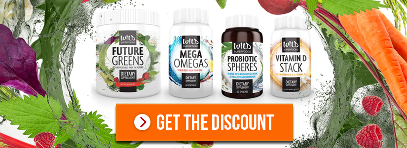 Get the Discount on Wild Superfoods Ultimate Daily Bundle:
