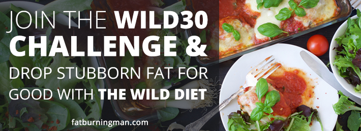 Drop Stubborn Fat for Good with The Wild Diet 30-Day Challenge!