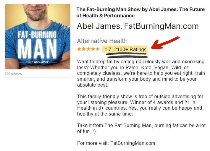 The Fat-Burning Man show with Abel James